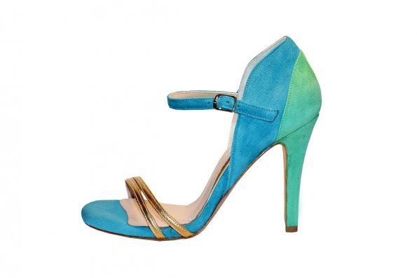 Helix high heel sandal